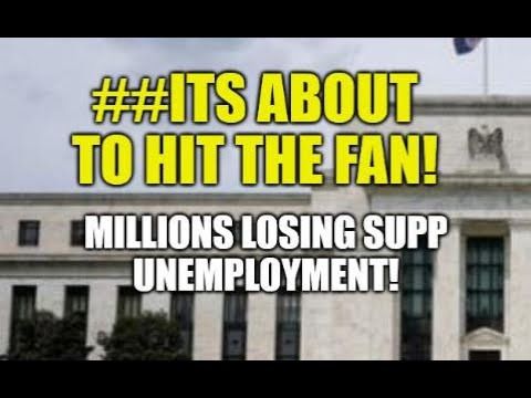 IT'S ABOUT TO HIT THE FAN, MILLIONS TO LOSE EXTRA UNEMPLOYMENT MONEY, WEALTH GAP, HOUSING BUBBL