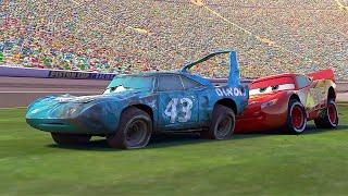 😎McQueen Helps The King   Pixar Cars   Disney Junior UK