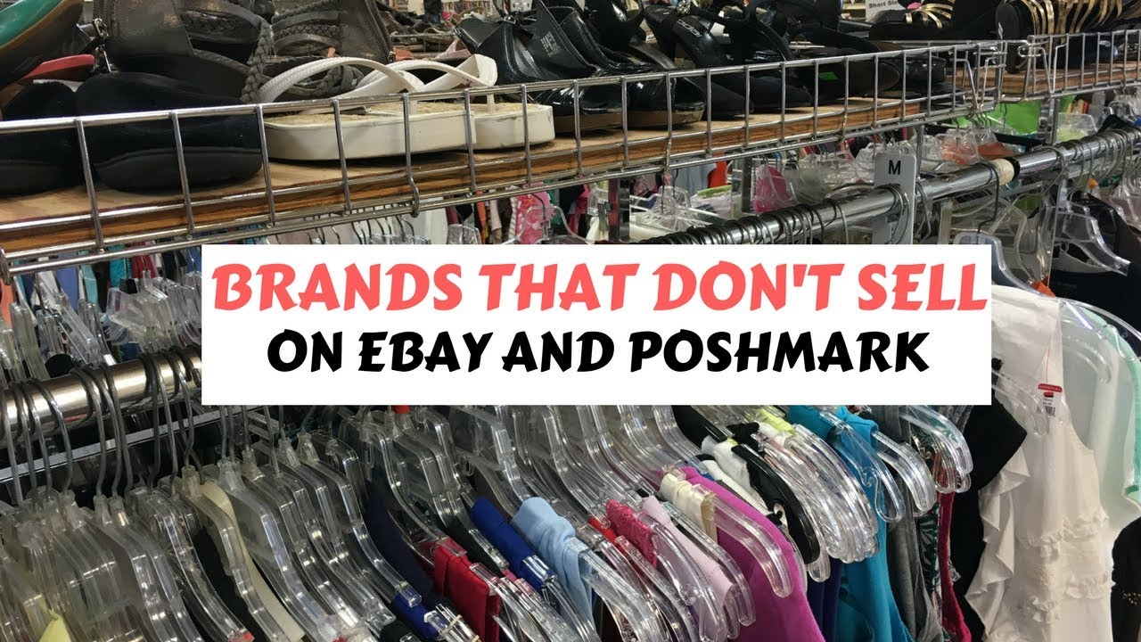 51fae960ebf Brands That Don't Sell For Me on Poshmark and eBay - YouTube