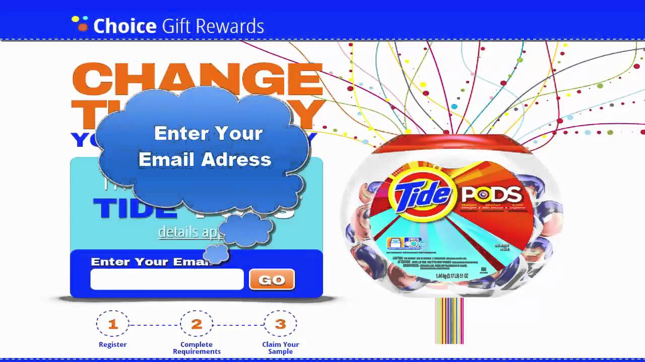 free sample of tide pods tide pod samples review 2015 youtube
