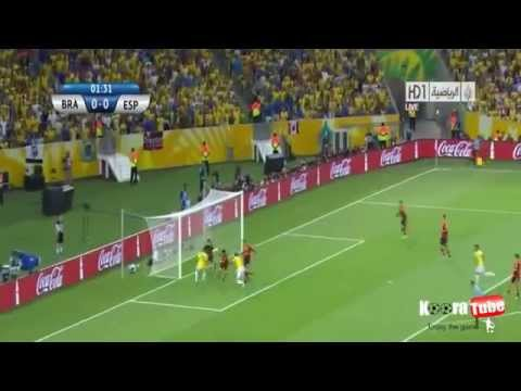 Brazil Vs Spain 3-0 All Goals and Highlights HD Confederation Cup Final 2013
