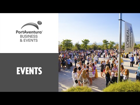 PortAventura Business & Events. Conference Destination, 1h from Barcelona