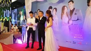 Song Luân 'bỏ rơi' Khả Ngân tại đám cưới của Hậu duệ mặt trời, BS Hoài Phương vẫn tình tứ 'Em đợi'