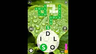 WORDSCAPES - Forest - Dew Stage Puzzles 1-12