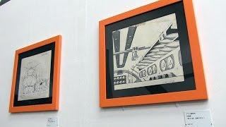 上野の森美術館 メカニックデザイナー 大河原邦男展 第1章「1972~1977年」