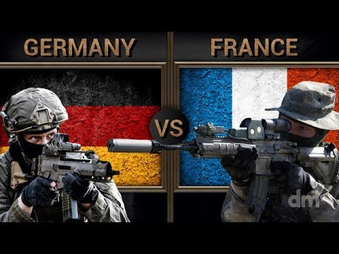 Germany Vs France - Army/Military Power Comparison 2018 (German Army Vs French Army)