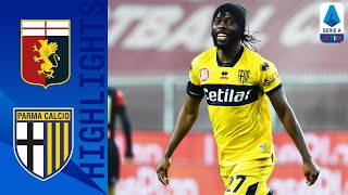 Genoa 1-2 Parma | Gervinho Bags a Brace Seals Away Victory for Parma | Serie A TIM