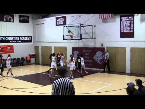 2014-02-08 FCA Girls Varsity Basketball vs Friends Select School