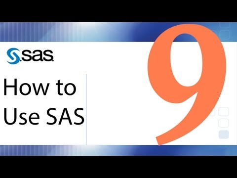How To Use SAS - Lesson 9 - Chi-Square, Fisher's Exact Test, Relative Risk