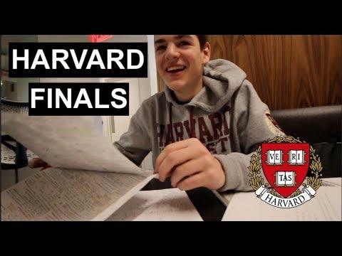 Welcome to Harvard Finals Week