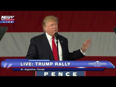 FULL: Donald Trump Rally In St. Augustine, FL