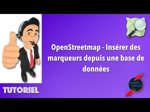 OpenStreetmap : Insérer Des Marqueurs Depuis Une Base De Données