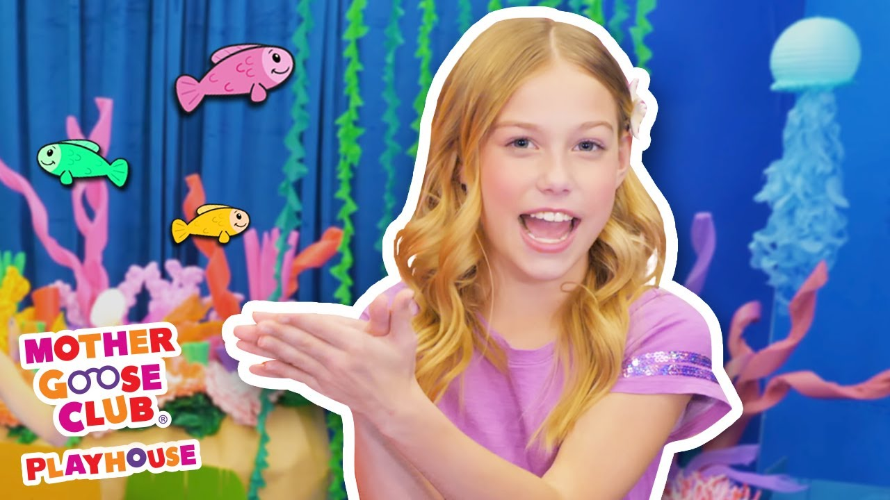 The Waves in the Sea + More | Mother Goose Club Playhouse Songs & Rhymes