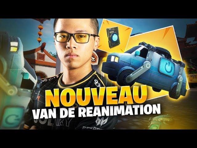 DECOUVERTE DU VAN DE RÉTABLISSEMENT SUR FORTNITE BATTLE ROYALE