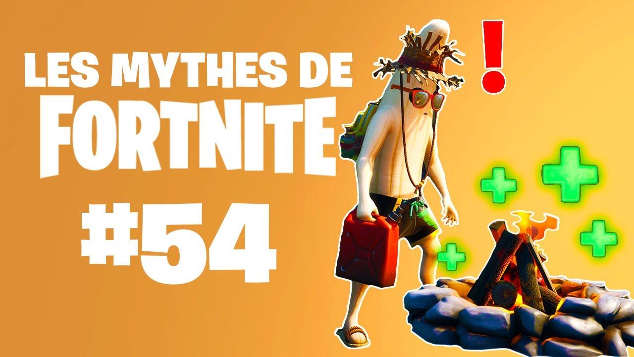 FEU DE CAMP INFINI ? | Mythes de Fortnite #54 feat. Ionix