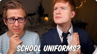 School Uniforms! YES OR NO? | British VS American
