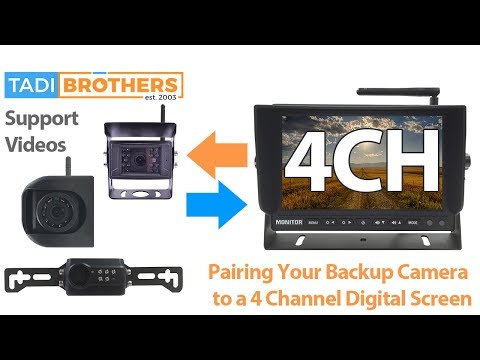 pairing-a-digital-backup-camera-that-has-no-buttons-and-fixing-orientation-of-side-camera
