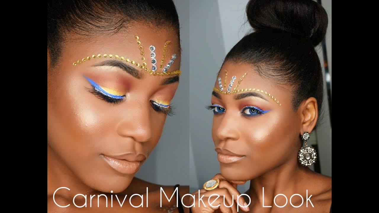 Toronto Caribana Carnival Makeup Look ♥