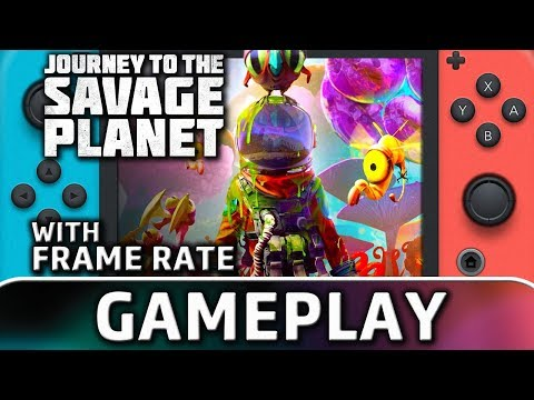 Journey To The Savage Planet   Nintendo Switch Gameplay & Frame Rate