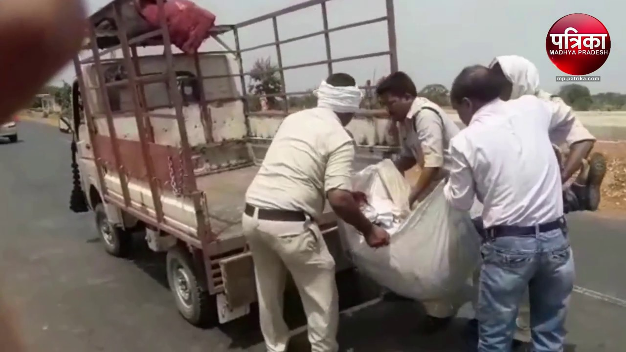 horrible road accident 1 died in katni madhya pradesh - youtube