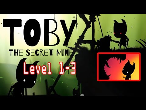 Toby: The Secret Mine -Gameplay First 10Mins Level 1-3 (iOS & Android By Headup Games GmbH & Co KG)