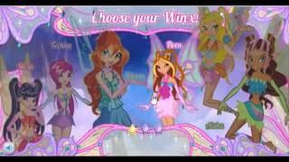 Игра Мир Винкс для Девочек Winx Club