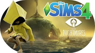 The Sims 4 LITTLE NIGHTMARES 👻🕸️ GIANT SIZED Speed Build | Part 1