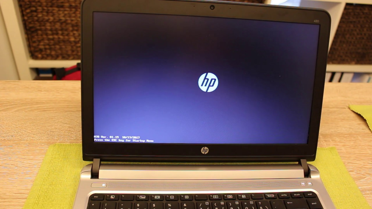 HOW TO: Set a Boot / Bios Password @ HP Probook [English]