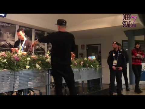 Clementino show a Sanremo 2017