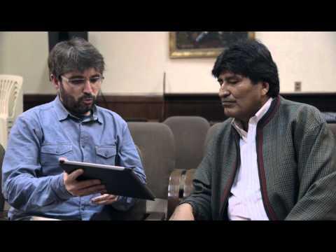"""Evo Morales: """"Felipe VI me miraba raro, despectivamente"""" - Salvados"""
