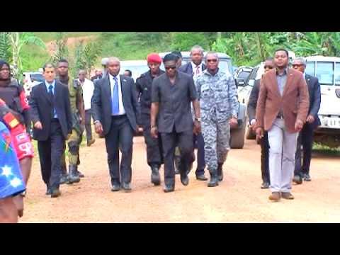 Morgan palmer et Teodorin Obiang en Guinée Equatoriale