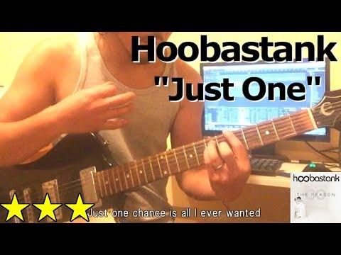 Hoobastank  - Just One (Guitar Cover/ Lyrics)