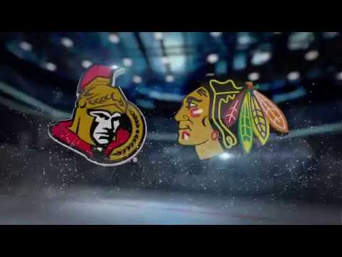 Chicago Blackhawks vs Ottawa Senators обзор матча