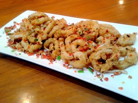 spicy salt and pepper squid