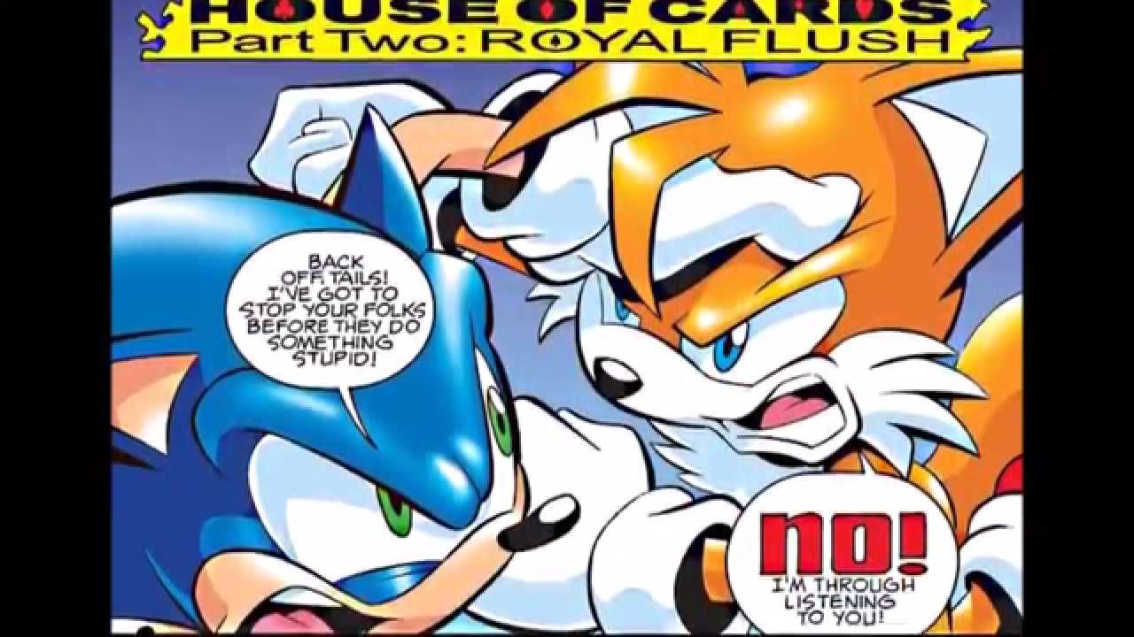 tails comics and Sonic