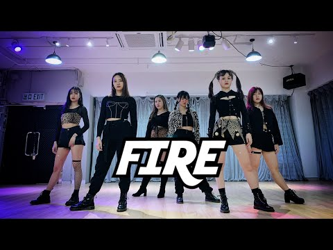 (G)I - DLE(여자아이들) - FIRE (QUEENDOM. Ver) | Asp3c from Hong Kong | Dance Cover