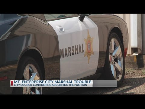 City Marshall trouble in Mt. Enterprise