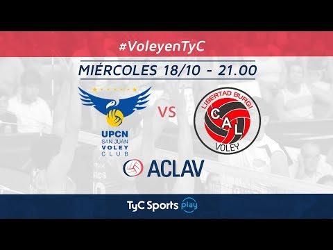Copa ACLAV: UPCN vs. Libertad Burgi Vóley   #VoleyEnTyC