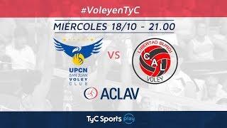 Copa ACLAV: UPCN vs. Libertad Burgi Vóley | #VoleyEnTyC