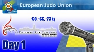 European Open Men - Warsaw 2015 - Day 1