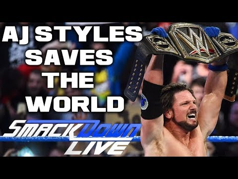 WWE Smackdown Live 11/7/17 Full Show Review & Results: AJ STYLES SAVE THE WORLD FROM JINDER MAHAL