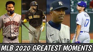 MLB | 2020 MOST UNFORGETTABLE AND BEST MOMENTS ᴴᴰ