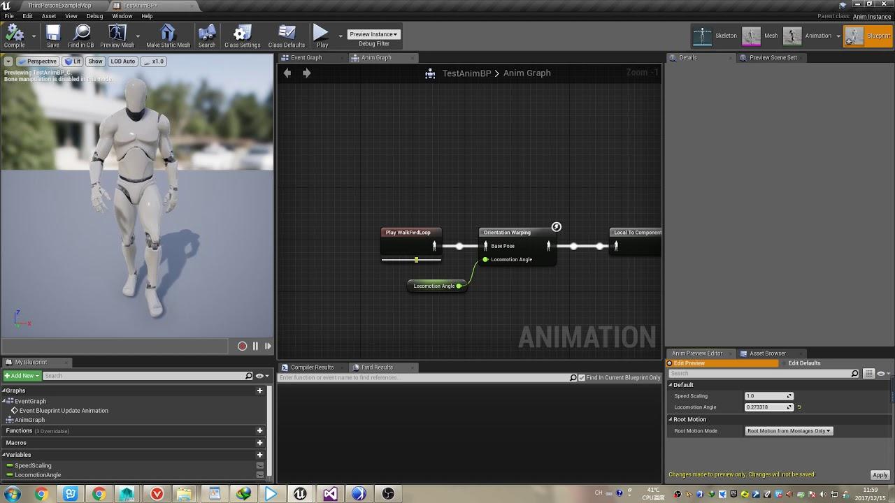 Unreal engine 4 animation orientation warping youtube unreal engine 4 animation orientation warping malvernweather Choice Image