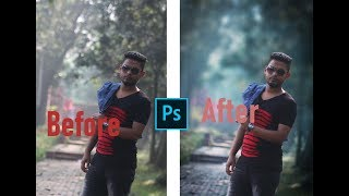 Professional Color Correction | Cinematic Color Grading  | Photoshop Cc 2019