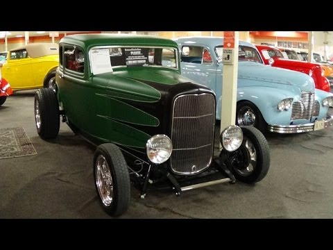 1932 Ford Coupe Hot Rod V8 Five Speed
