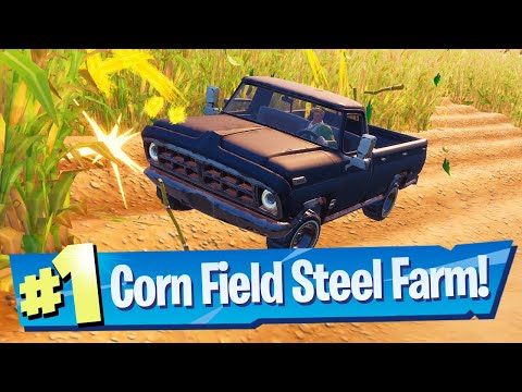 Drive a car through the corn field at steel farm location - fortnite mp3