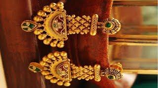 Gold Dangler Earrings 2019   Indian Jewellery Design 2019