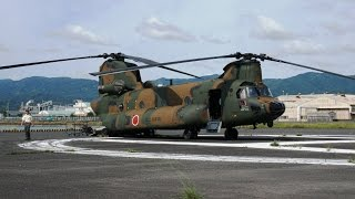 CH-47JA体験搭乗 Experience-based boarding  CH-47JA 체험 탑승
