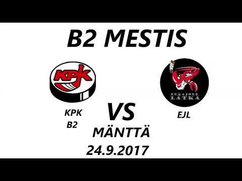 B2 Mestis-karsinta 2017 - 2018: KPK VS EJL