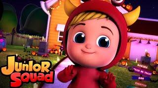 хэллоуин бит | потешки | мультфильмы | Junior Squad Russia | детская музыка